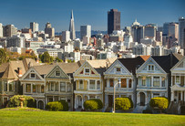 Die Painted Ladies am Alamo Square – San Francisco (Tag 16-18)